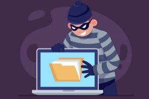E se seu laptop fosse roubado?
